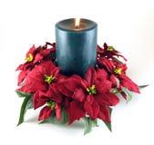 De Kaars van Kerstmis Stock Fotografie
