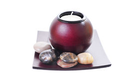 De Kaars van Zen Royalty-vrije Stock Afbeelding