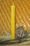 De kaarsen van de bijenwas Royalty-vrije Stock Foto