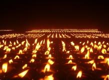 De Kaarsen van de geest Royalty-vrije Stock Foto