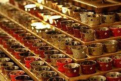 De Kaarsen van de kerk Royalty-vrije Stock Foto