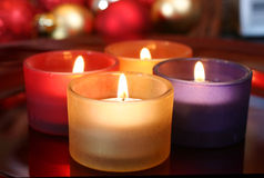 De kaarsen van de viering Royalty-vrije Stock Afbeelding