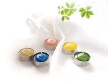 De kaarsen van het aroma Stock Foto