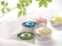 De kaarsen van het aroma Royalty-vrije Stock Foto's