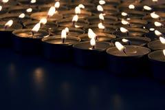 De kaarsen van het kuuroord Stock Foto