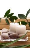 De Kaarsen van het KUUROORD Stock Afbeeldingen