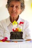 De kaarsen van het verjaardagsaantal Royalty-vrije Stock Afbeelding
