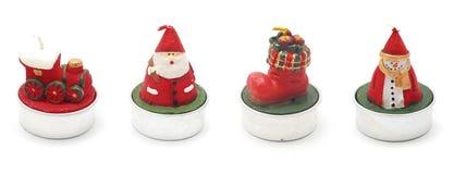 De kaarsen van Kerstmis Stock Afbeelding