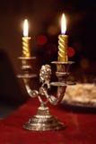 De kaarsen van Kerstmis Royalty-vrije Stock Foto's