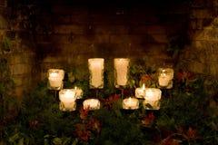 De Kaarsen van Kerstmis Royalty-vrije Stock Afbeelding