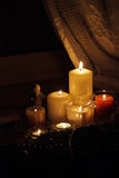De kaarsen van Kerstmis Royalty-vrije Stock Foto