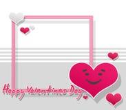 De Kaart of de Achtergrond van de valentijnskaart vector illustratie