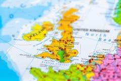 De kaart van Birmingham het UK royalty-vrije stock foto's