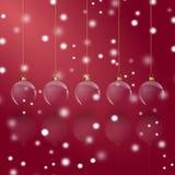 De kaart van Christmass Stock Foto