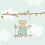 De Kaart van de babydouche Royalty-vrije Stock Foto