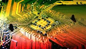De kaart van de computer Royalty-vrije Stock Foto's