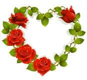 De kaart van de Dag van de valentijnskaart
