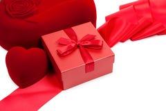 De Kaart van de Dag van de valentijnskaart Stock Afbeeldingen