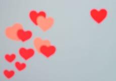De kaart van de Dag van valentijnskaarten Stock Afbeelding