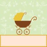 De kaart van de de aankomstaankondiging van de baby Royalty-vrije Stock Afbeeldingen