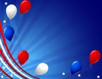 De kaart van de de dagviering van de onafhankelijkheid Royalty-vrije Stock Foto's