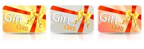 De kaart van de gift Stock Foto