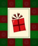 De kaart van de gift Stock Fotografie