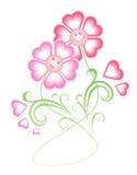 De kaart van de groet (valentijnskaart, huwelijk Royalty-vrije Stock Afbeeldingen