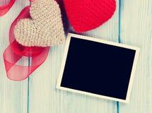 De Kaart van de Groet van de Dag van valentijnskaarten Royalty-vrije Stock Foto's