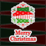 De Kaart van de Groet van Kerstmis Royalty-vrije Stock Fotografie