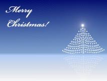 De kaart van de groet van Vrolijke Kerstmis Royalty-vrije Stock Afbeelding