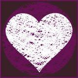 ClipArt [de groetkaart van de Valentijnskaart] [roze] Royalty-vrije Stock Foto