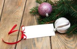 De kaart van de groet voor Kerstmis Royalty-vrije Stock Afbeelding