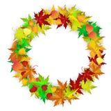 De kaart van de herfst Met extra formaat Royalty-vrije Stock Afbeelding