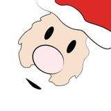 De kaart van de Kerstman Stock Fotografie