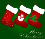 De Kaart van de Kerstmisgroet Royalty-vrije Stock Afbeelding