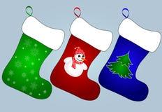 De Kaart van de Kerstmisgroet Stock Afbeeldingen