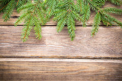 De kaart van de Kerstmisgroet. Stock Foto