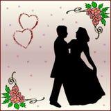 De Kaart van de liefde Royalty-vrije Stock Foto
