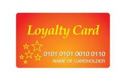 De kaart van de loyaliteit Royalty-vrije Stock Foto's