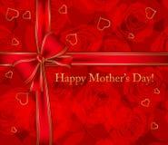 De kaart van de moederdag Stock Foto's