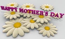 De kaart van de moederdag Royalty-vrije Stock Foto