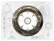 De kaart van de navigatie Royalty-vrije Stock Foto's