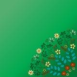 De kaart van de ornamentkleur met mandala Uitstekende decoratieve elementen H Stock Afbeelding