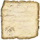 De kaart van de schat royalty-vrije stock foto