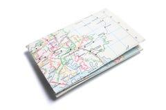 De Kaart van de straat Royalty-vrije Stock Foto's