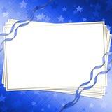 De kaart van de uitnodiging Stock Afbeeldingen