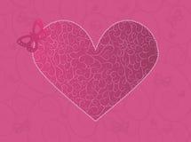 De kaart van de valentijnskaart Royalty-vrije Stock Afbeelding