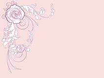 De kaart van de valentijnskaart Stock Afbeelding
