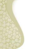 De kaart van de valentijnskaart met exemplaarruimte. EPS 8 Royalty-vrije Stock Fotografie